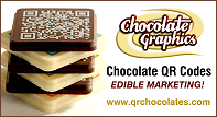Chocolate QR Codes From Chocolate Graphics